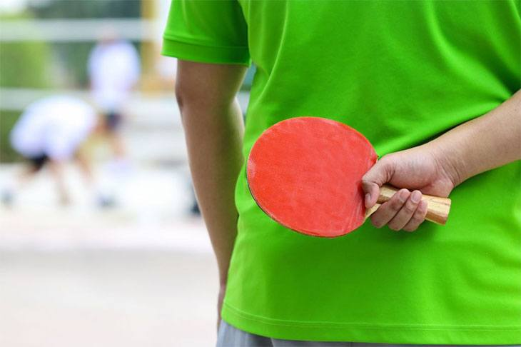 best ping pong paddle rubber